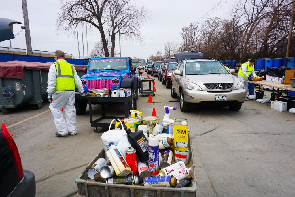 Household Hazardous Waste Collection. Photo courtesy of MMSD.