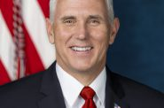 Mike Pence. Official White House Photo by D. Myles Cullen.