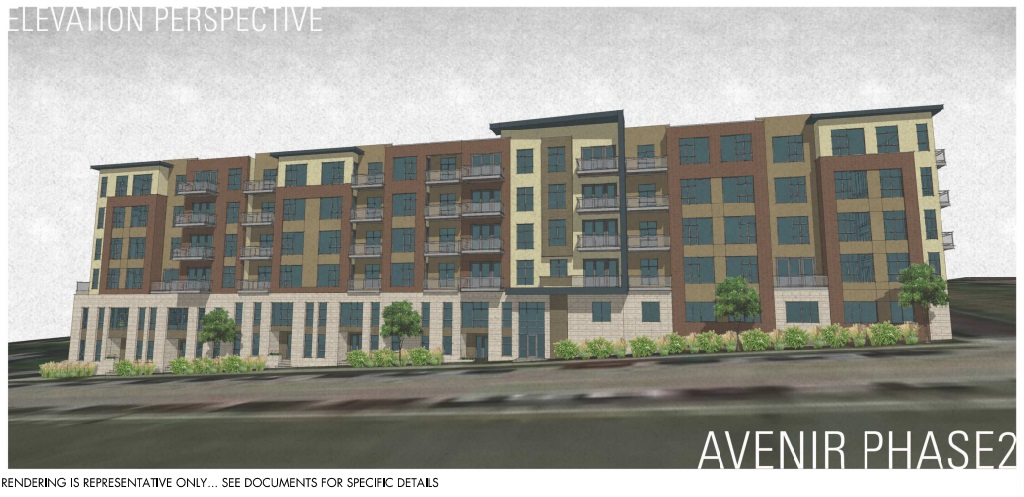 Avenir Phase 2. Rendering by AG Architecture.