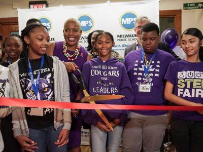 Cass Street School Opens New STEM Center