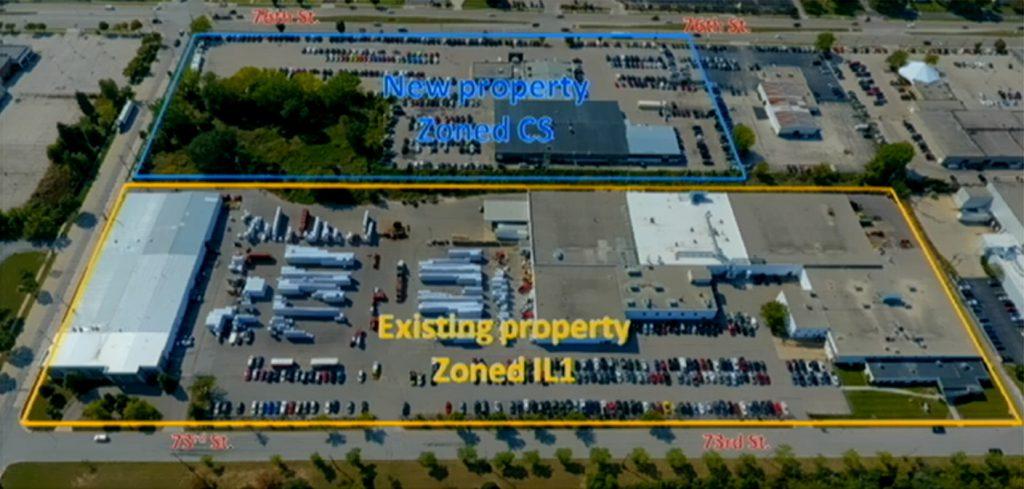 Douglas Dynamics expansion plan. Image from Douglas Dynamics.