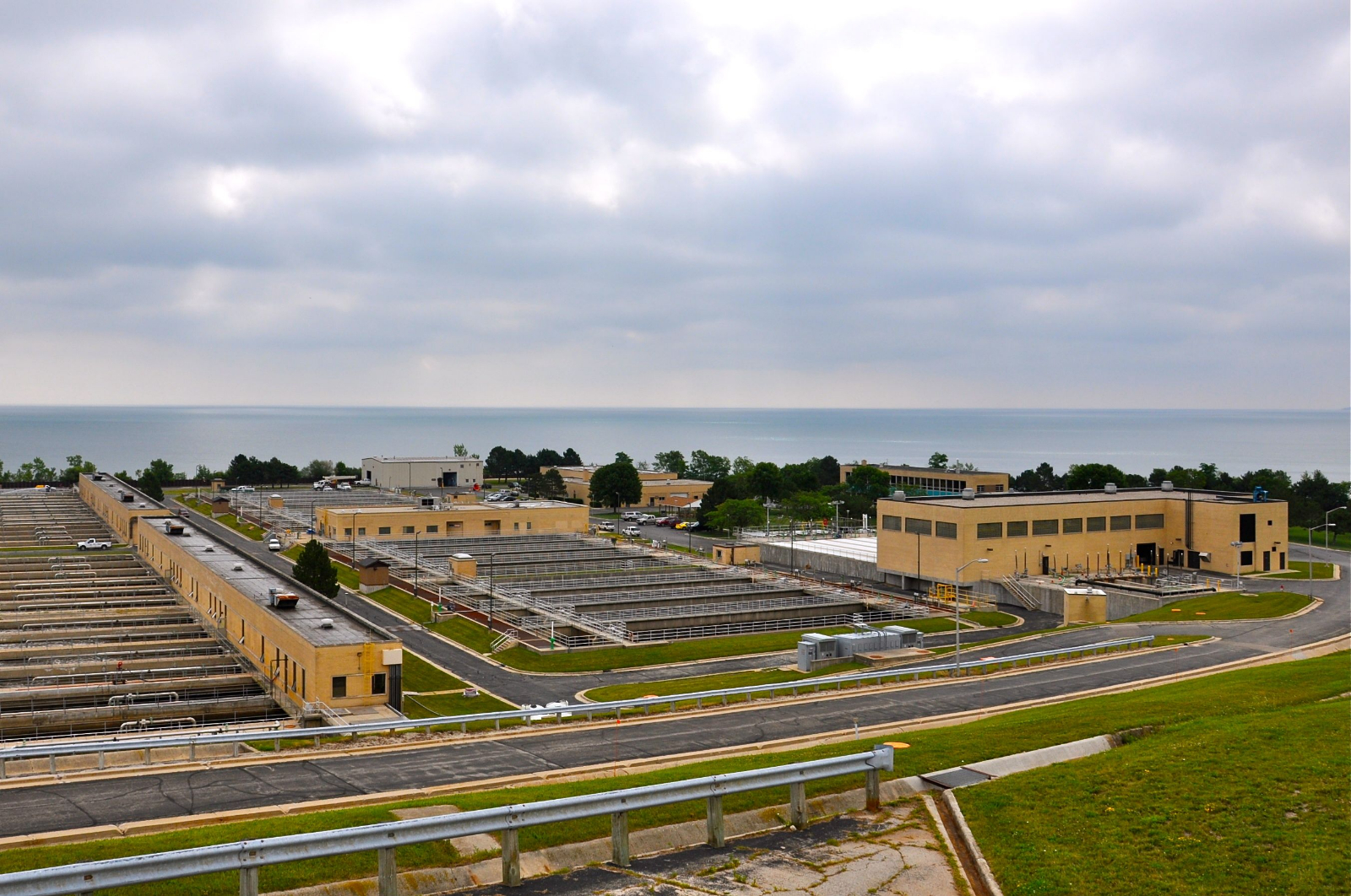 The Milwaukee Metropolitan Sewage District's South Shore Wastewater Treatment Plant. Photo by Susan Nusser.