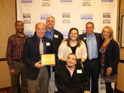 Marquette University receives Employer of the Year Award for inclusive hiring