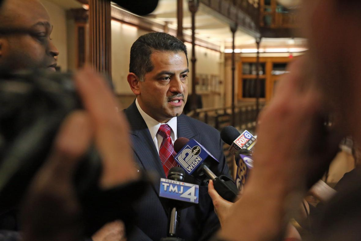Milwaukee Police Chief Alfonso Morales. File photo from the Milwaukee Police Department.