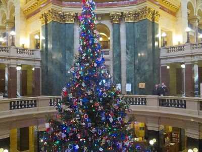 Assembly Debates Christmas, er, Holiday Tree