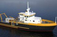 Research Vessel Maggi Sue. Photo courtesy of UWM.
