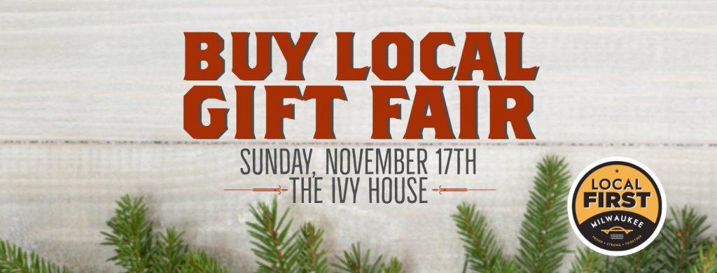 Buy Local Gift Fair.