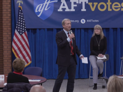 Tom Steyer Comes to Town