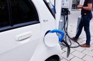 Electric car charging station. (CC0 Public Domain)