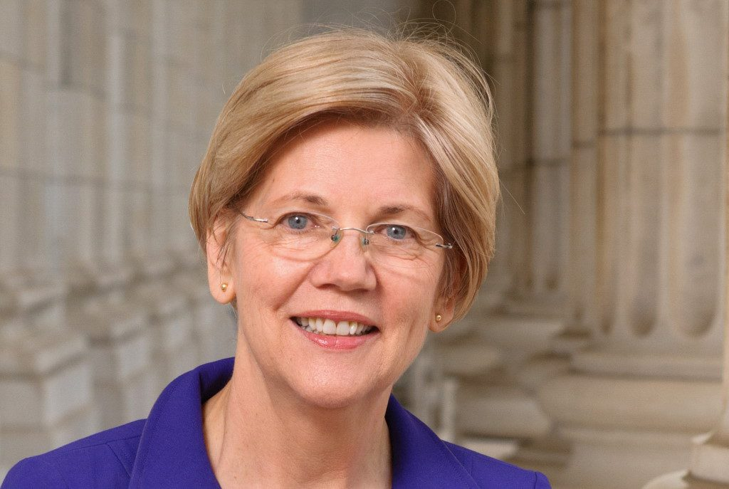 Elizabeth Warren. Photo is in the Public Domain.