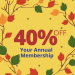 Black Friday Deal 40% Off Annual Membership