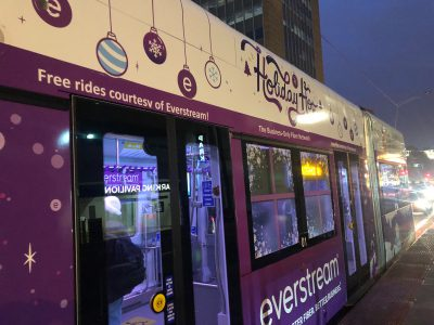 "Transportation: The ""Holiday Hop"" Streetcar Debuts"