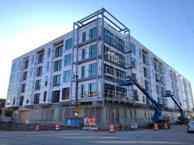 Friday Photos: The Yards Rises on Former Reed Street