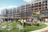 Bayshore Town Center redevelopment rendering. Photo courtesy of Bayshore .