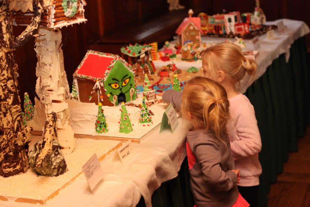 Holiday Music and Hand-Made Houses at 23rd Annual Gingerbread Festival. Photo courtesy of the Kohler Foundation.