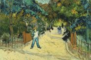 Vincent van Gogh, Entrance to the Public Gardens in Arles, 1888. Oil on canvas, 28 1/2 x 35 3/4 in. The Phillips Collection, Washington, DC. Acquired 1930
