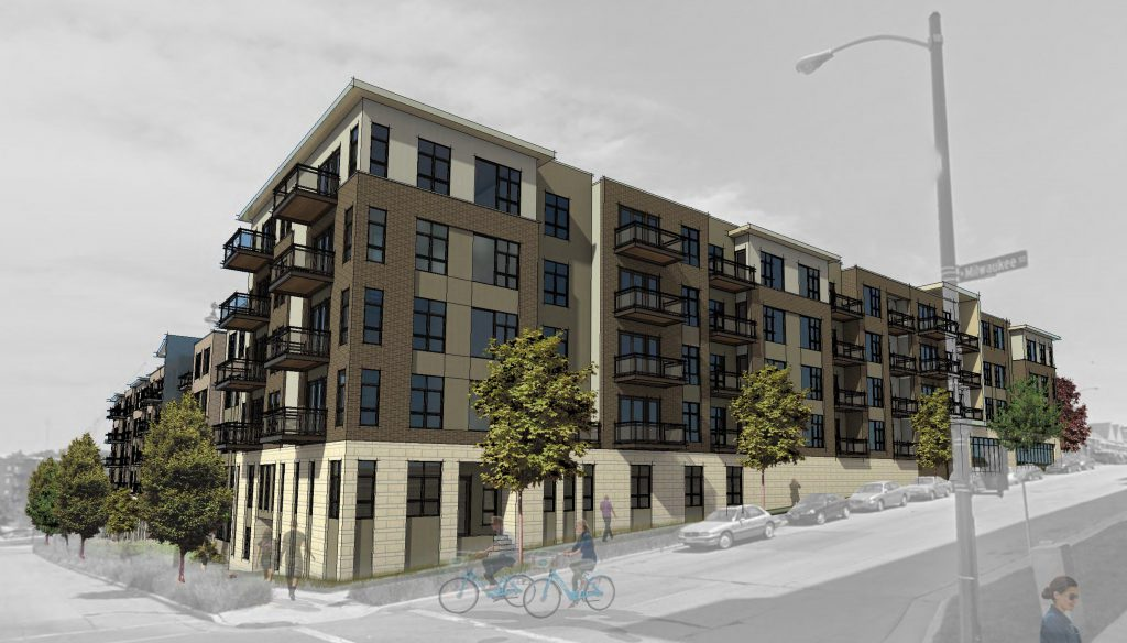 Avenir phase two and three rendering. Rendering by AG Architecture.
