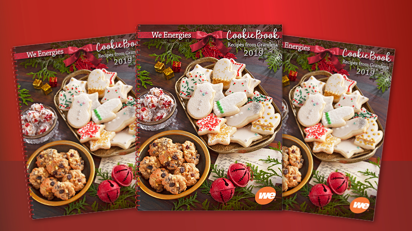A family holiday tradition like no other, the 2019 We Energies Cookie Book is coming soon