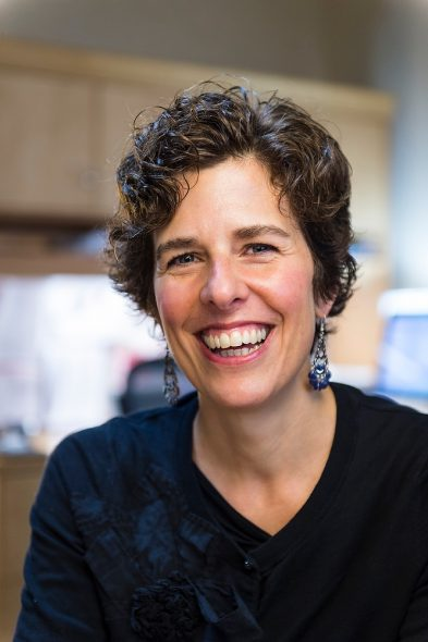 Kathy Cramer, a professor of political science at the University of Wisconsin-Madison, says politicians, rather than the public, often set the political agenda and shape public sentiment. Photo by Jeff Miller/UW-Madison.