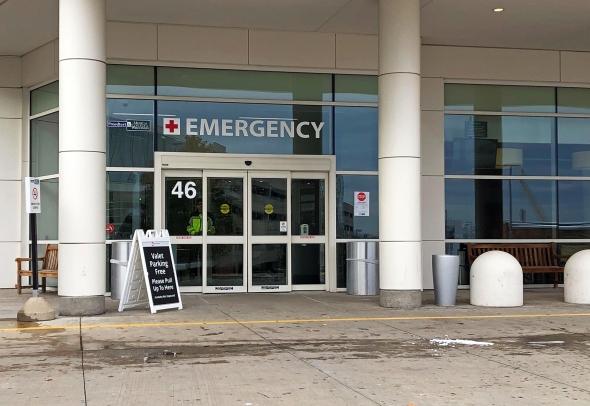 Froedtert Hospital emergency department in Milwaukee. Photo by Corrinne Hess/WPR.