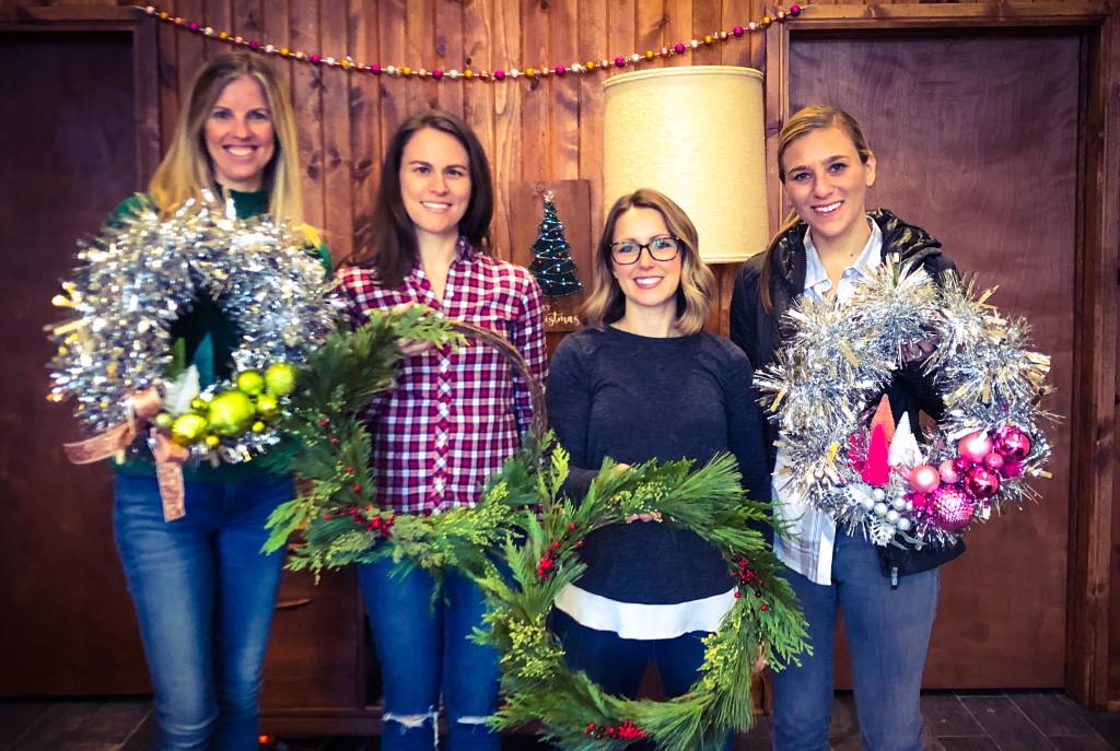 Elizabeth Owen, Kate Slaasted, Jennifer Elster and Ann Kotze. Photo courtesy of Rec Room Craft Company.
