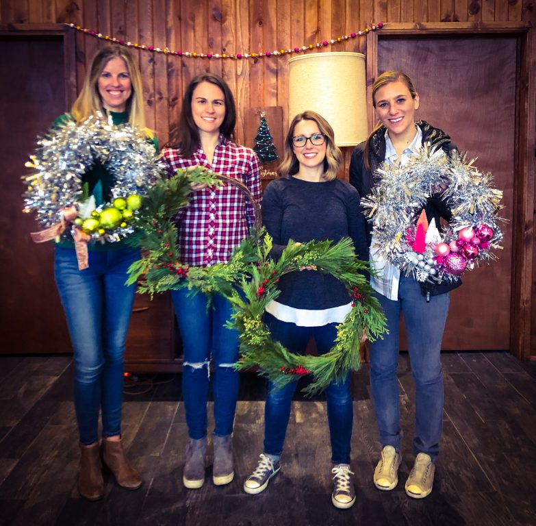 Elizabeth Owen, Kate Slaasted, Jennifer Elster and Ann Kotze. Photo courtesy of Rec Room Craft Company.