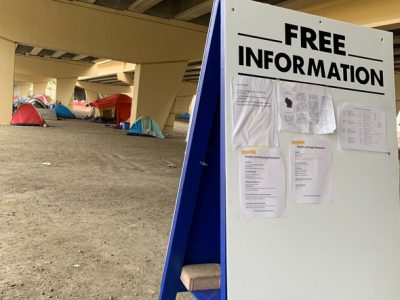 Tent City Homeless Evicted By State