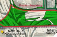 Project boundary.