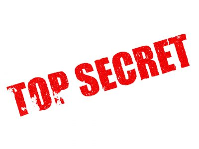 Op Ed: 'Shhh! It's a Secret…'