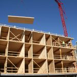 Eyes on Milwaukee: City's First Mass Timber Building Tops Off