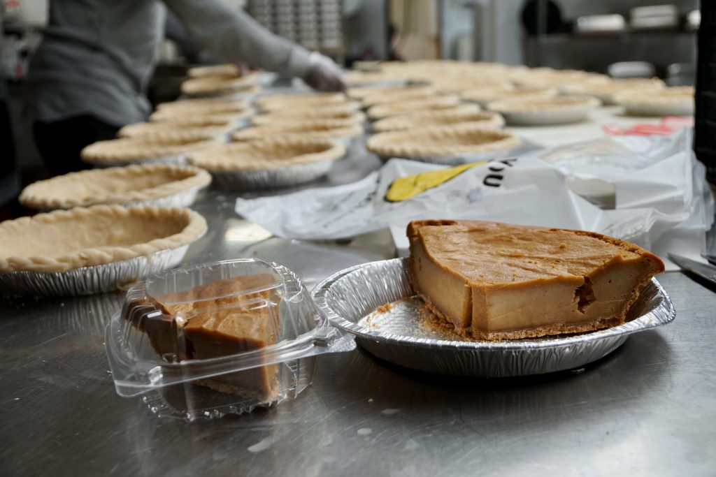 Mr. Dye's Pies is one of many restaurants open for pickup or delivery. Photo by Adam Carr/NNS.