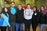 The de la Cruz family re-united. Photo by Isiah Holmes/Wisconsin Examiner.