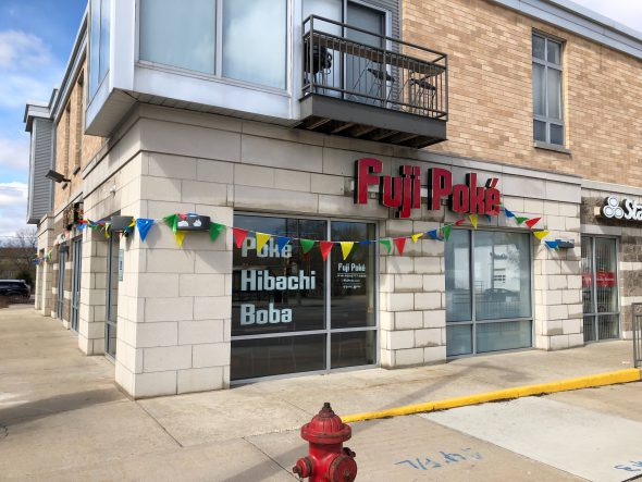 Fuji Poke, 2121 S. Kinnickinnic Ave. Photo by Jeramey Jannene.