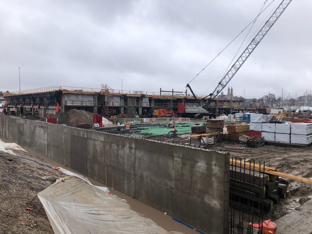 River One construction. Photo by Jeramey Jannene.