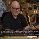 """City Hall: """"Officer Ray's"""" FPC Appointment Okayed"""