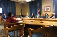 FPC Executive Director Griselda Aldrete speaks before the Common Council. Photo by Jeramey Jannene.