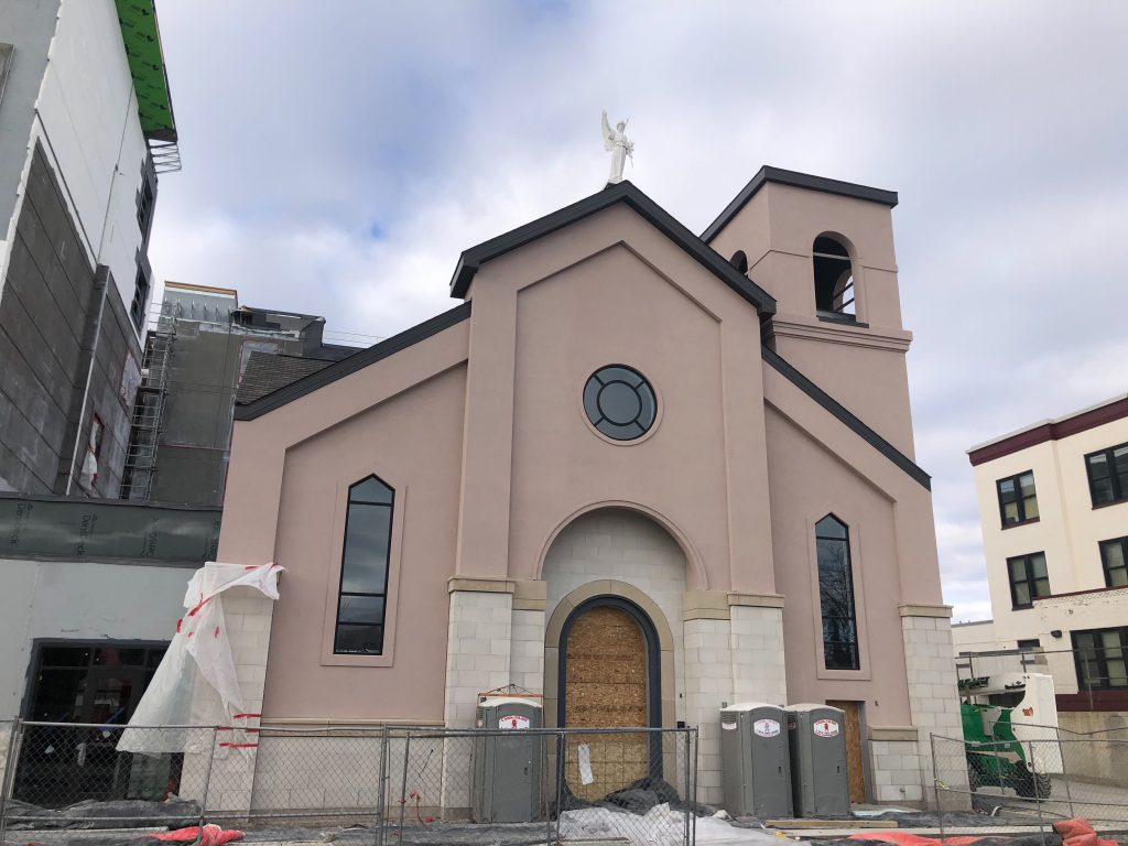 The new St. Rita's church. Photo by Jeramey Jannene.