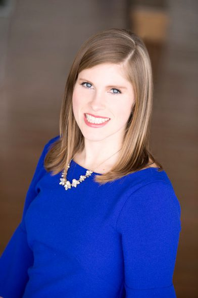 Katharine Foley. Photo courtesy of Public Relations Society of America Southeastern Wisconsin.
