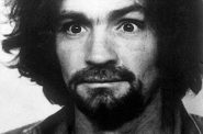 Charles Manson. Photo is in the Public Domain.