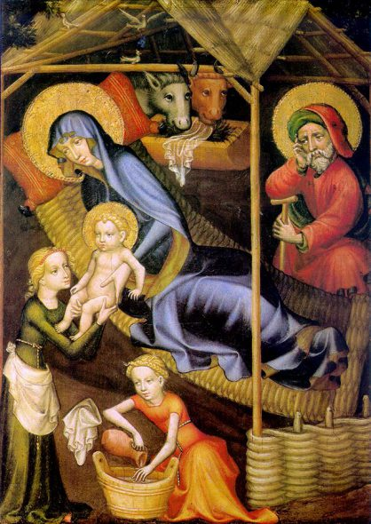 The Nativity. Photo is in the Public Domain.