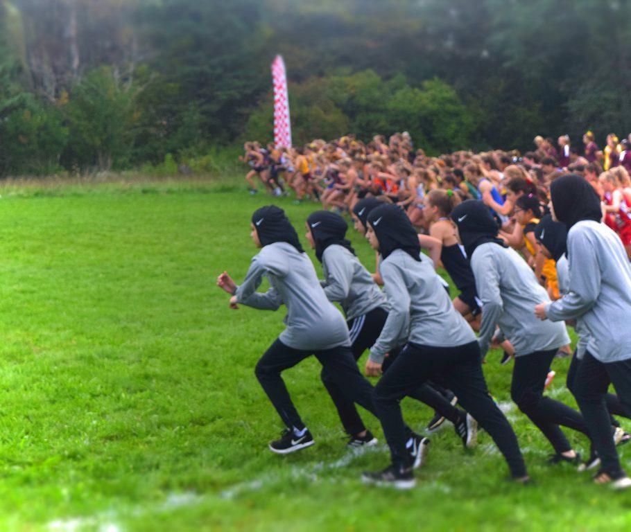 Salam School cross-country team. Photo courtesy of Salam School.