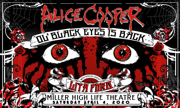 Legendary Rocker Alice Cooper Comes to the Miller High Life Theatre