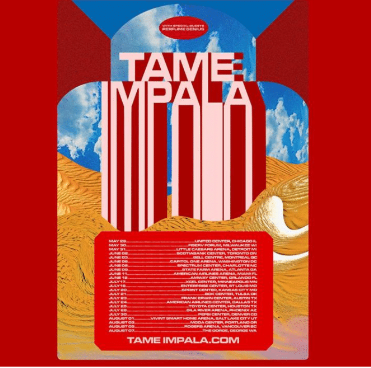 Tame Impala to Perform at Fiserv Forum on Saturday, May 30, 2020