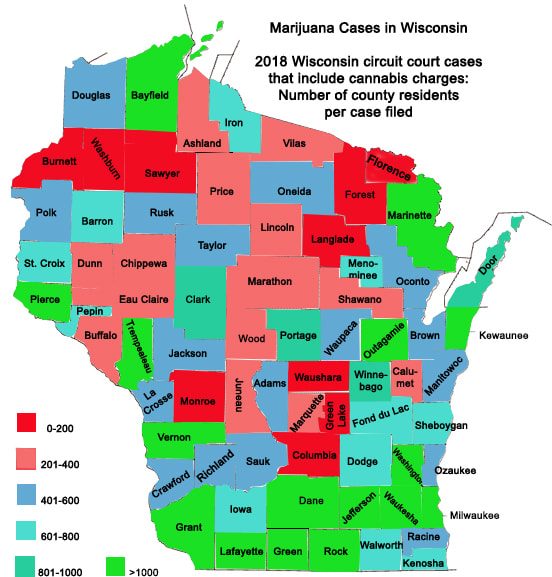 Marijuana Cases in Wisconsin