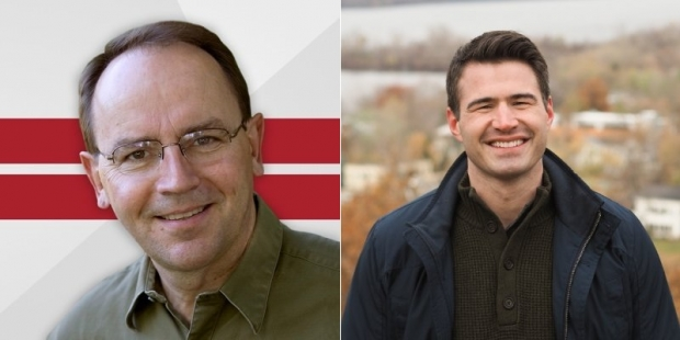 Tom Tiffany, left, and Jason Church are the Republican candidates in the 7th Congressional District special election.