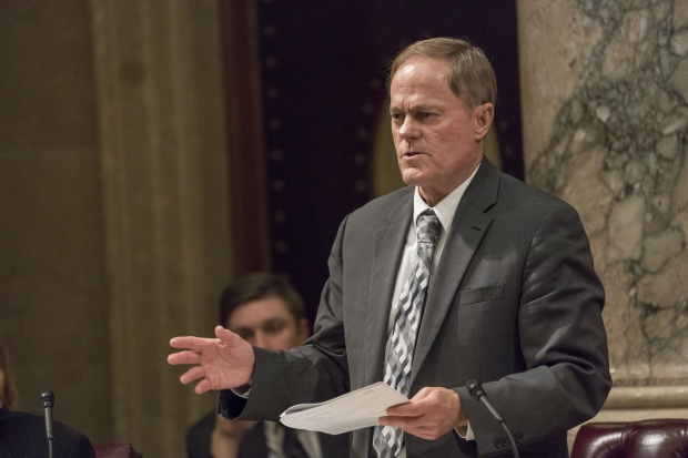State Sen. Rob Cowles, R-Green Bay. Photo courtesy of Wisconsin state Legislature.