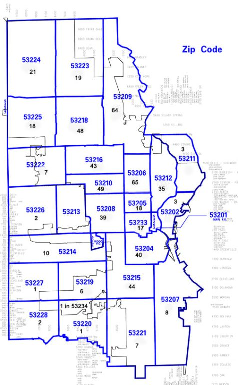 Zip Code Map Milwaukee Court Watch: Most Muni Court Pot Cases Charged Blacks in 2019