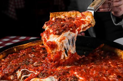 Pizza. Photo courtesy of Pizanos's Pizza & Pasta.