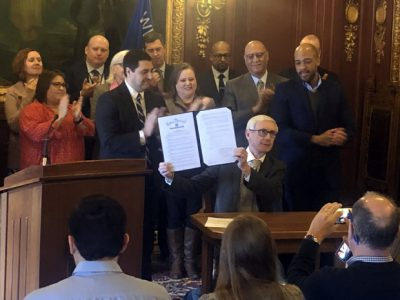 Evers Signs Order for Redistricting Commission