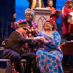 "Theater: Skylight's ""Gospel at Colonus"" Soars Musically"